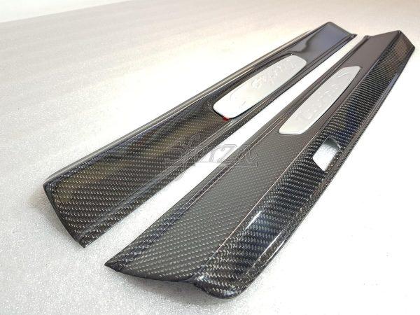 Porsche 911 991 Carbon door sills twill 2x2