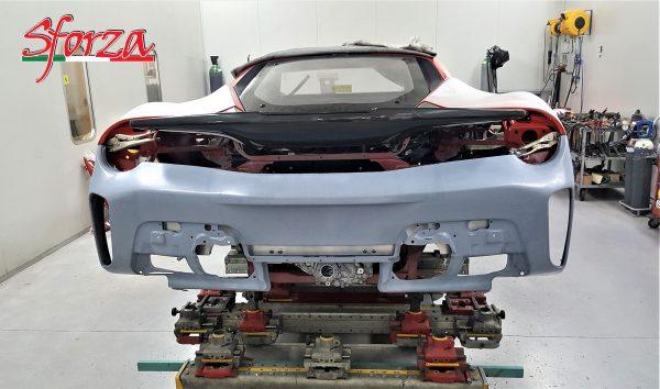 Ferrari 488 Pista paraurti posteriore